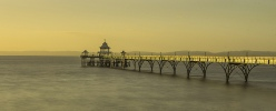 Late Afternoon At Clevedon Pier-Roger Paxton