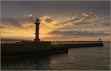 Commended - Close to Sun Set at Whitby - David Price